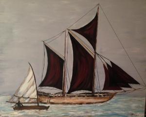 mer le voilier